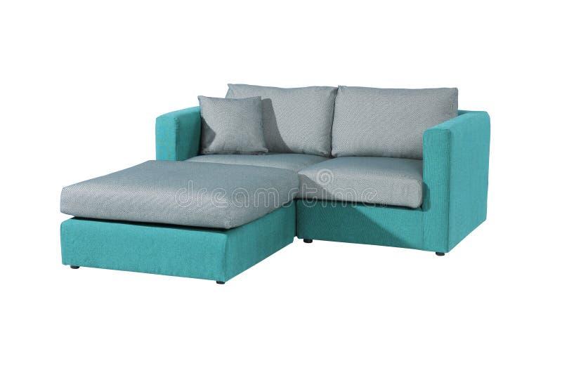 两供以座位的沙发 图库摄影