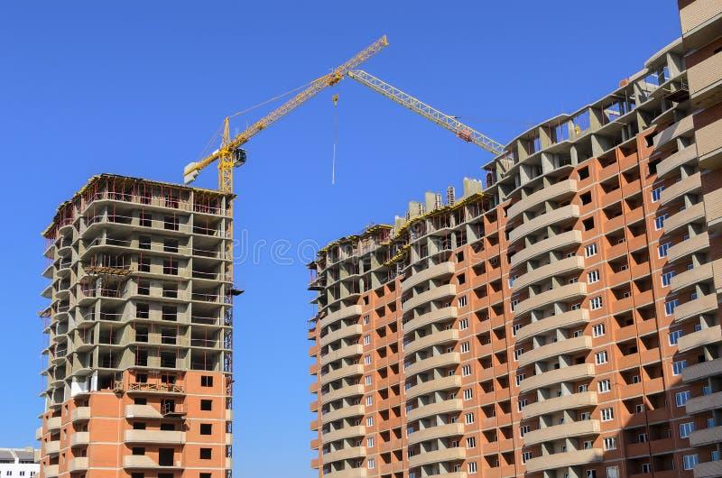 两座新的高层建筑物 免版税库存图片