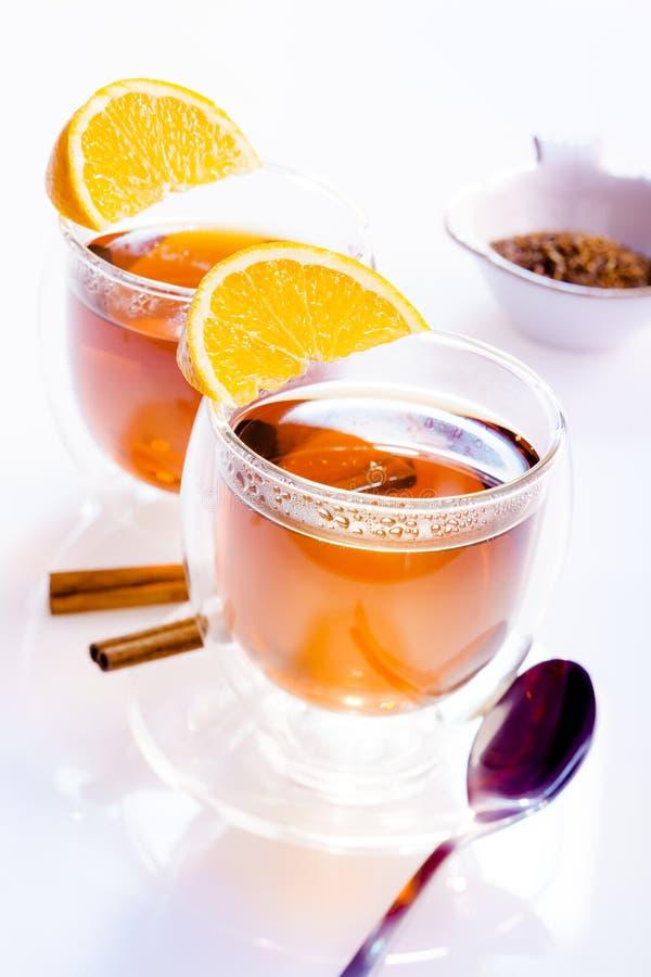 两杯茶 免版税库存图片