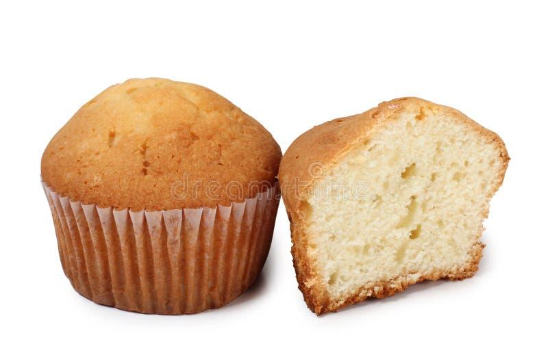 两甜蛋糕 库存图片