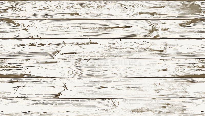 两种颜色的白色无缝的木纹理 库存照片
