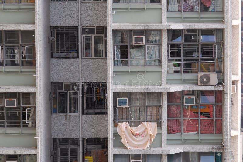 严密的挤压公寓 免版税库存照片
