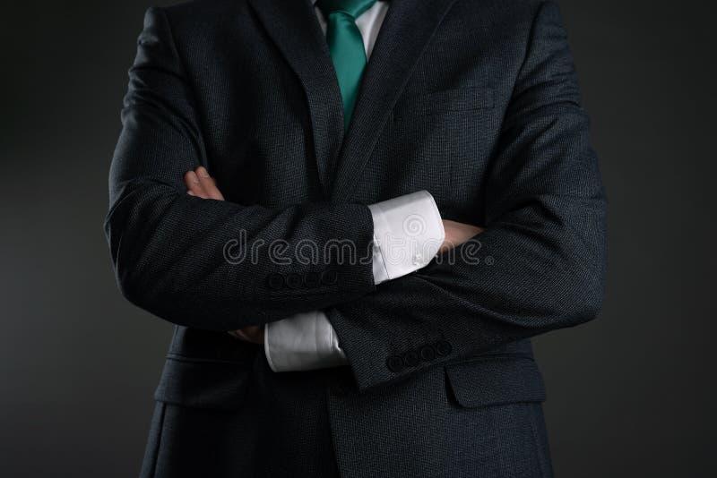 严格的上司 免版税库存照片