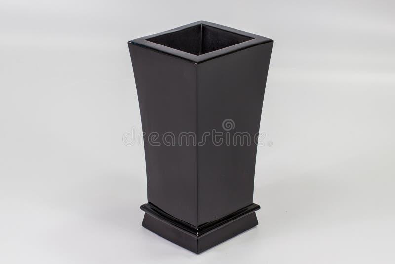 严重花瓶由石头01制成 库存图片