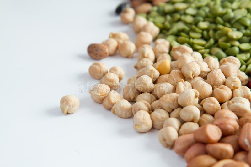整个五谷豆类 免版税图库摄影