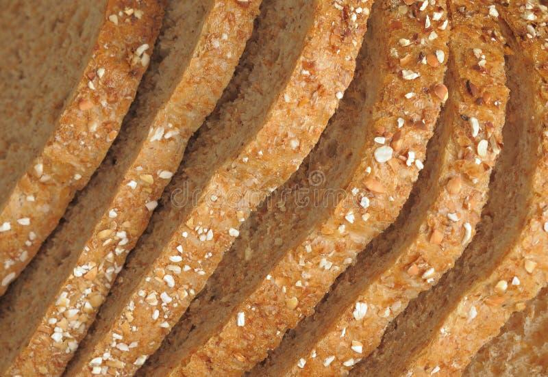 整个五谷面包 库存照片