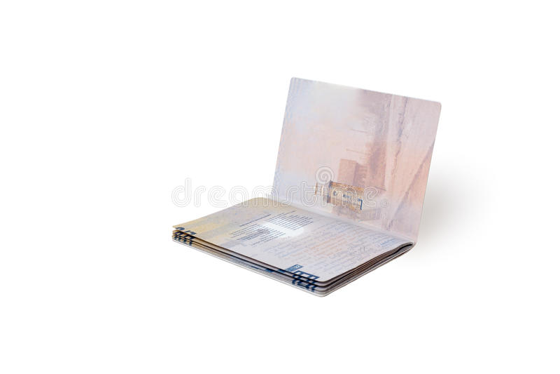个人旅行文件 免版税图库摄影