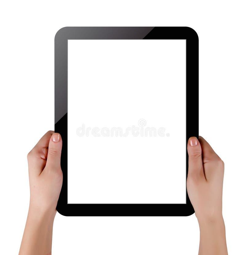 个人计算机片剂 免版税库存照片