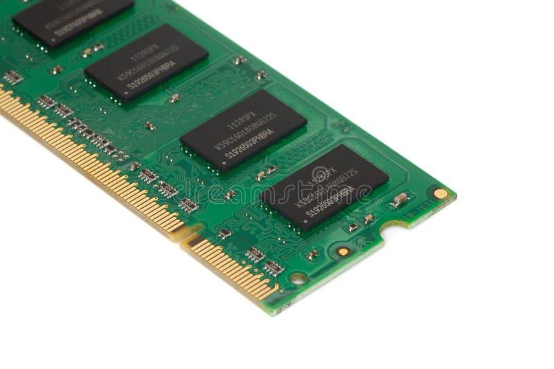 个人计算机的记忆棍子(RAM) 库存照片