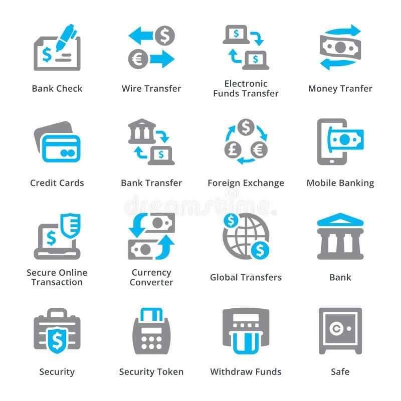 个人&企业财务象设置了3 - Sympa系列 向量例证