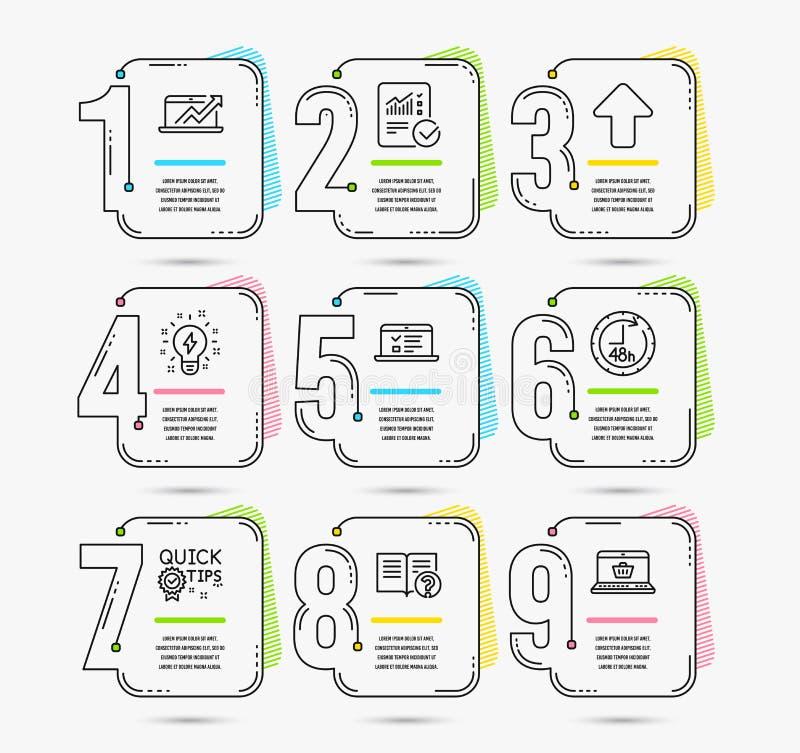 48个小时,启发和加载象 网演讲,销售用图解法表示并且帮助标志 向量 向量例证
