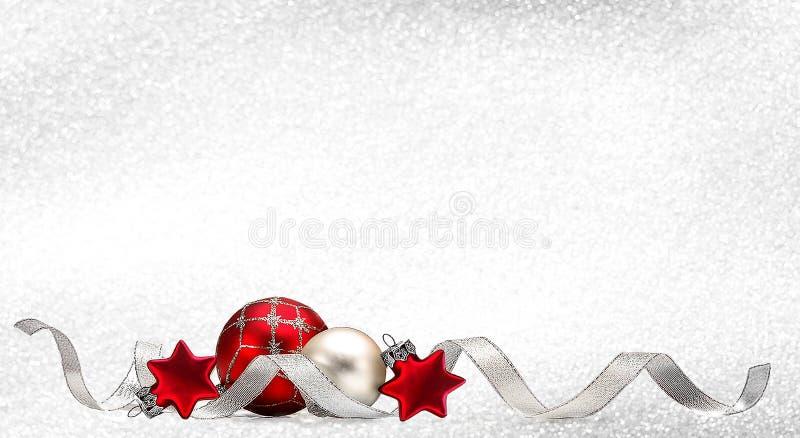 3个看板卡圣诞节 向量例证