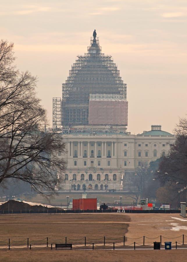 2009个秋天国会大厦状态团结了 图库摄影