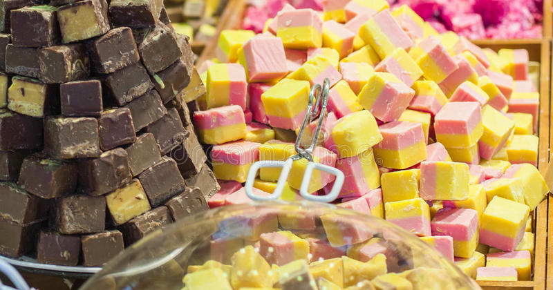 1个糖果 免版税库存照片