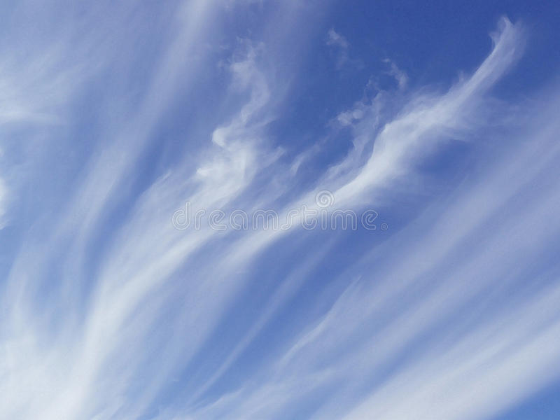 1个背景覆盖多云天空 库存照片
