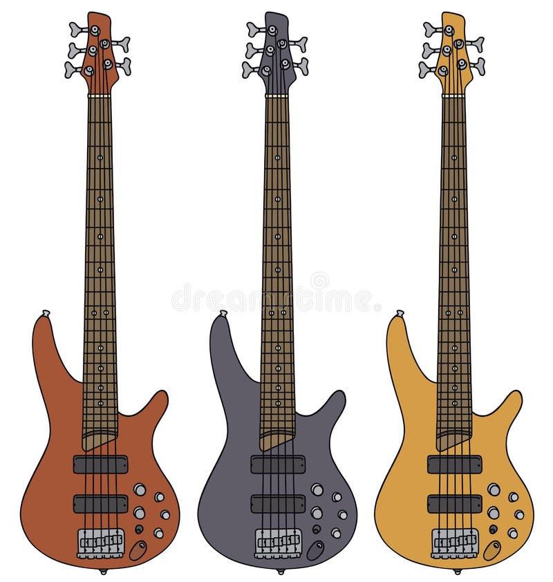 2011个范围低音迪拜节日灰色吉他国际爵士乐macy执行 皇族释放例证