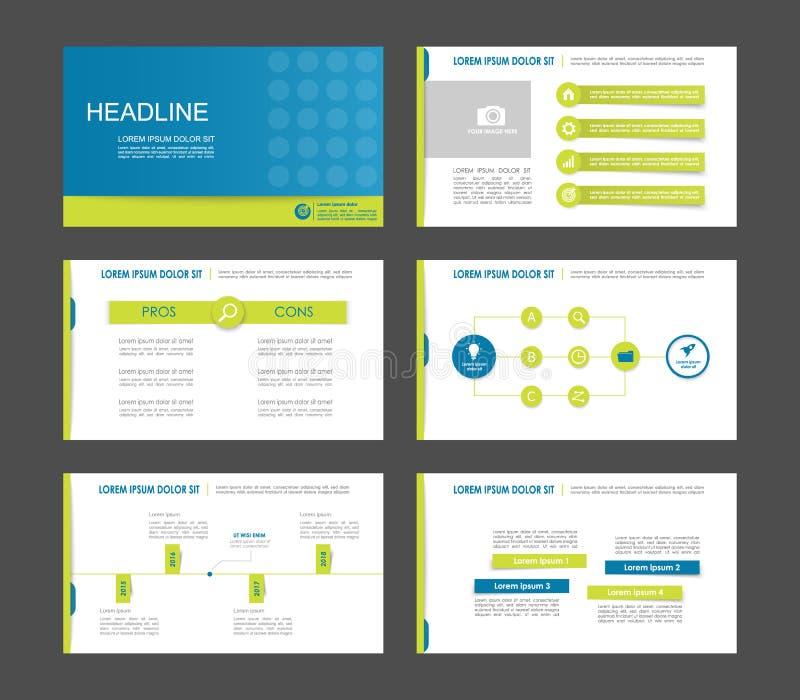 10个要素eps infographics 皇族释放例证