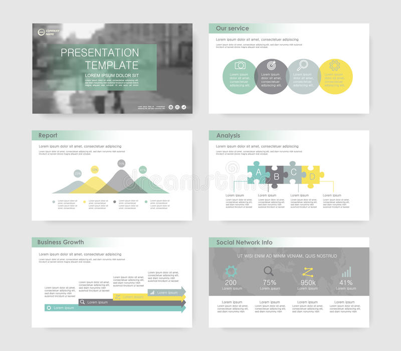 10个要素eps infographics 库存例证