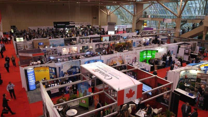 2016个PDAC国际大会和商业展览在多伦多的地铁大会Centr 免版税库存照片