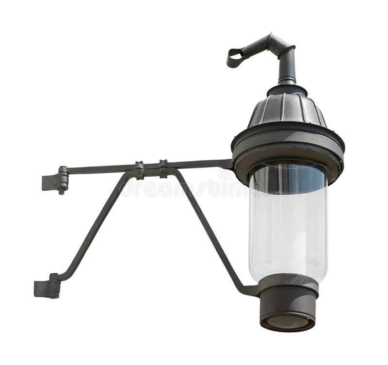 中世纪保险开关气体停止的灯笼 免版税库存图片