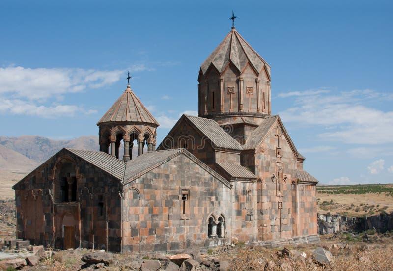 中世纪修道院ohanavanq 库存图片