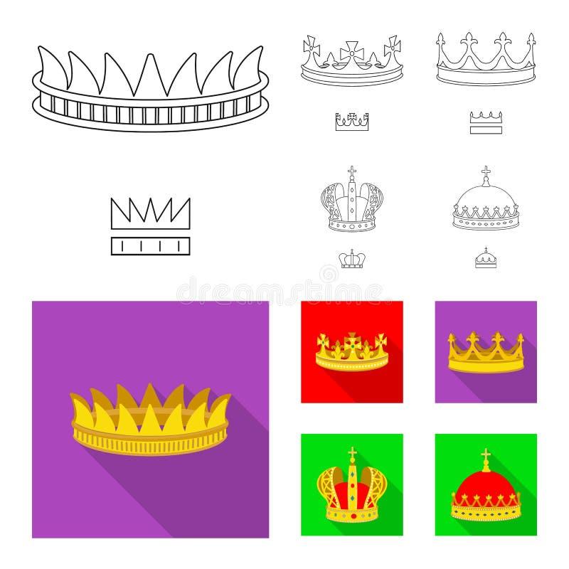 中世纪和贵族象传染媒介设计  o 库存例证