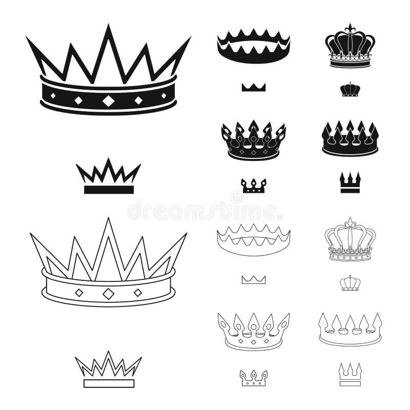 中世纪和贵族象传染媒介设计  r 皇族释放例证