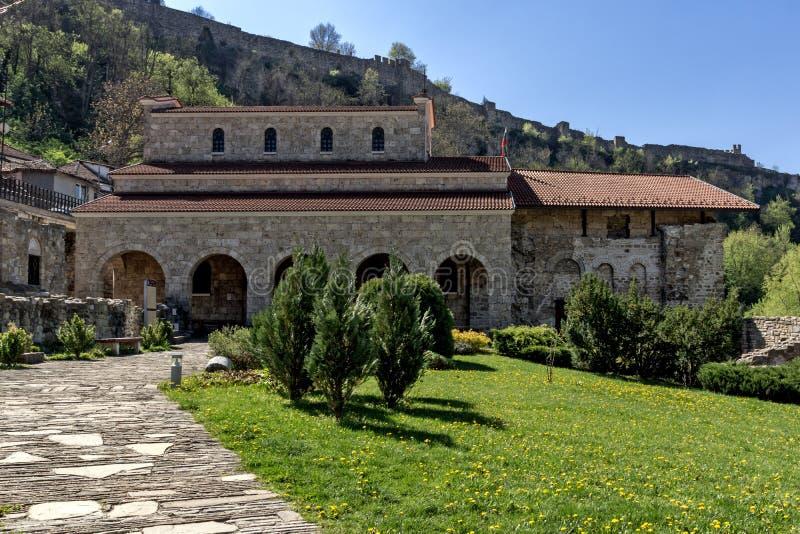 中世纪圣洁四十个受难者教会-东正教教会在1230年修建的在大特尔诺沃,保加利亚镇  图库摄影