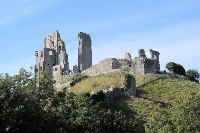 中世纪城堡。 库存图片