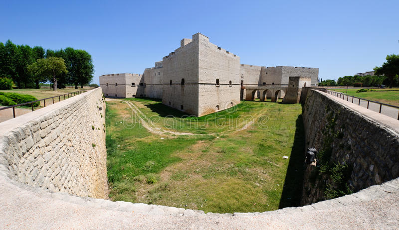 中世纪城堡 库存照片