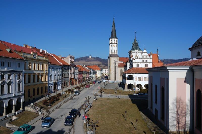 中世纪城镇 免版税图库摄影
