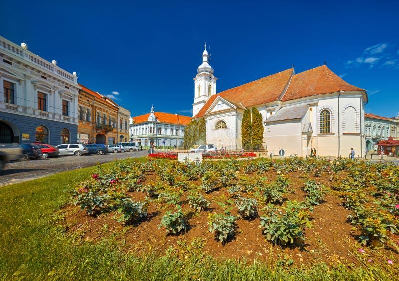 中世纪城镇 库存照片
