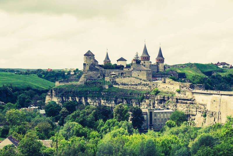 中世纪堡垒 免版税图库摄影