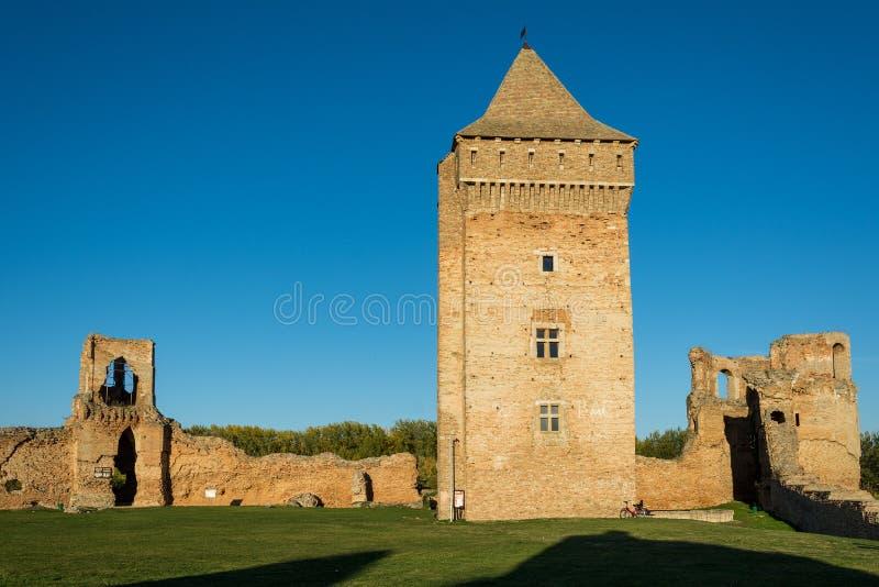 中世纪堡垒Bac在塞尔维亚 图库摄影