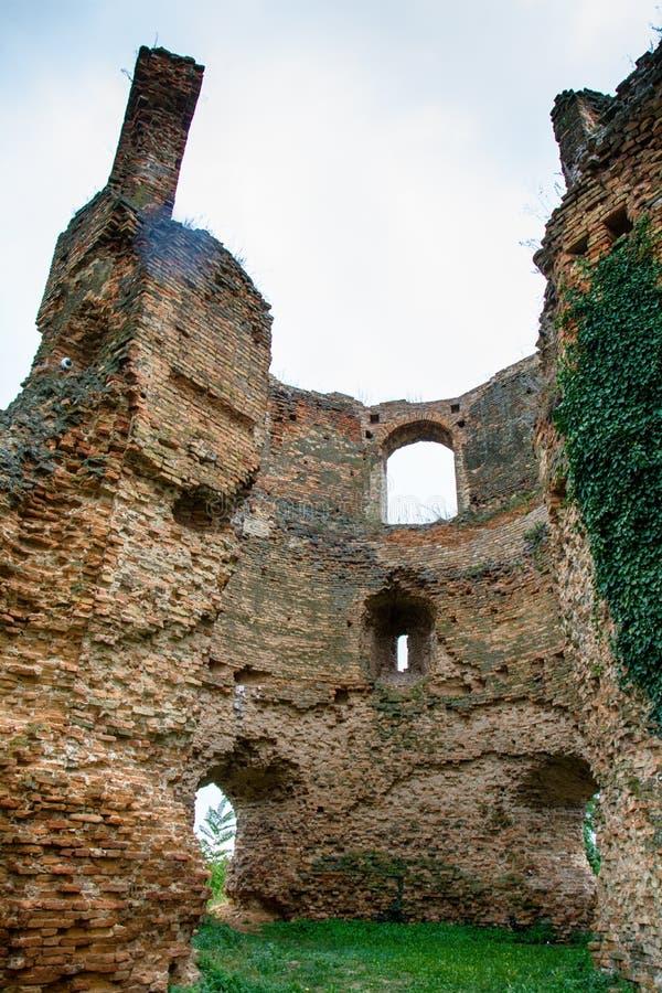中世纪堡垒Bac在塞尔维亚 库存照片