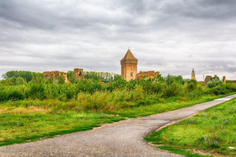 中世纪堡垒Bac在塞尔维亚 库存图片