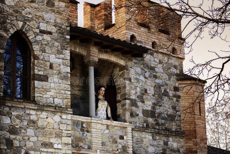 中世纪妇女 图库摄影