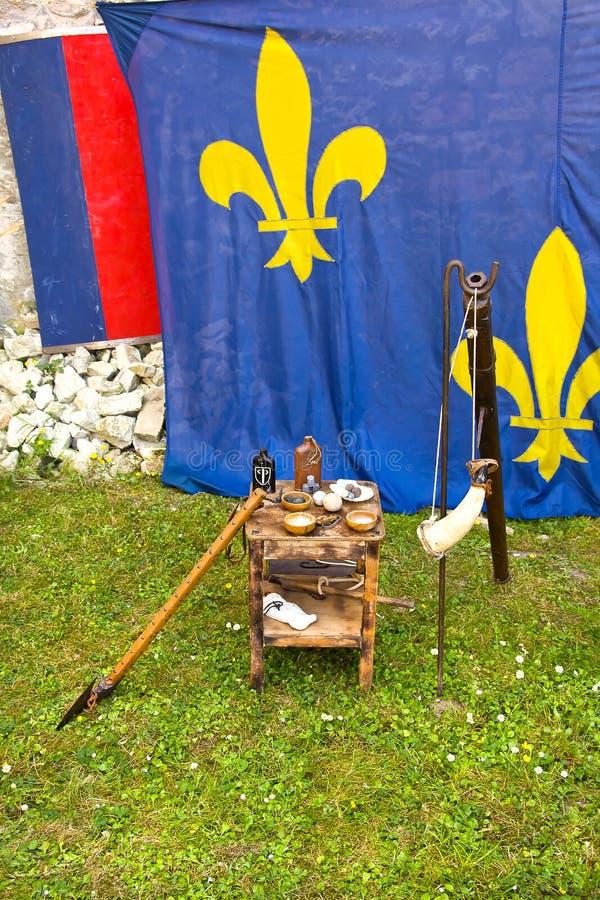 中世纪对象 图库摄影