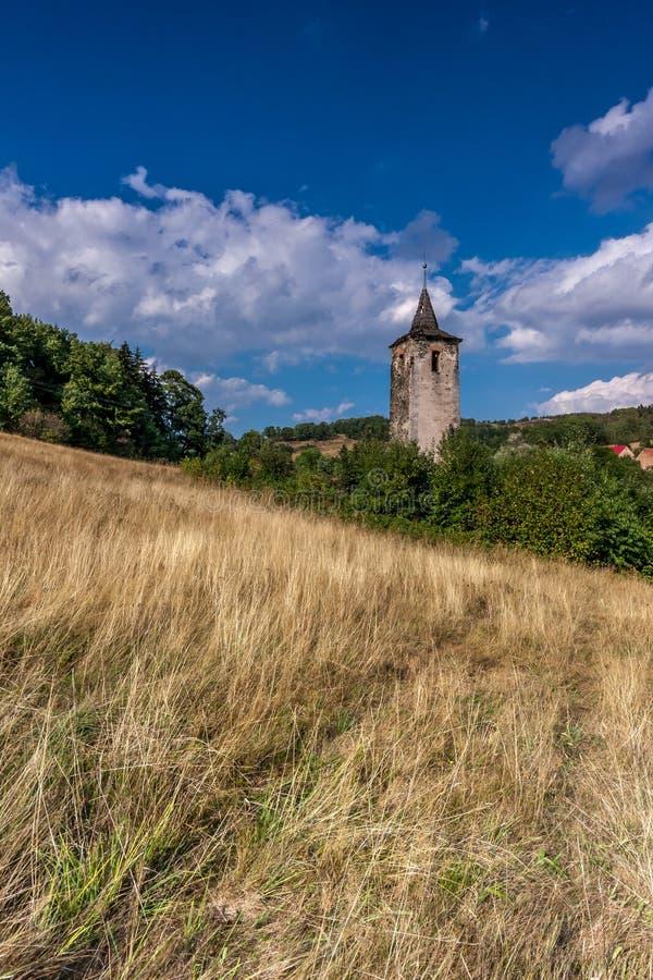 中世纪废墟 库存照片
