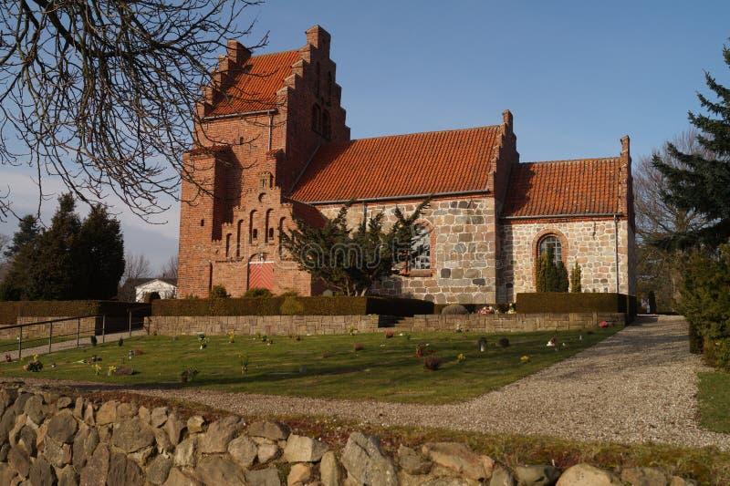 中世纪教会 库存照片