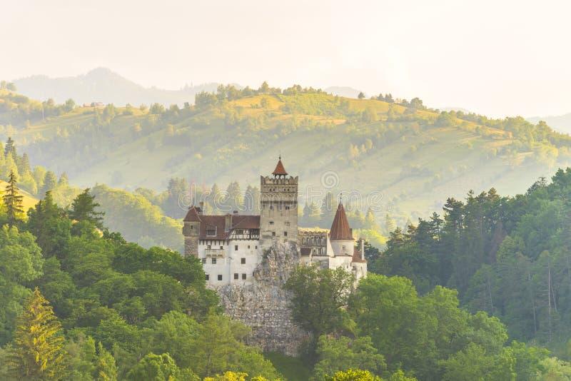 中世纪的城堡 图库摄影
