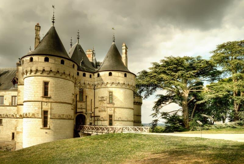 中世纪的城堡 库存照片