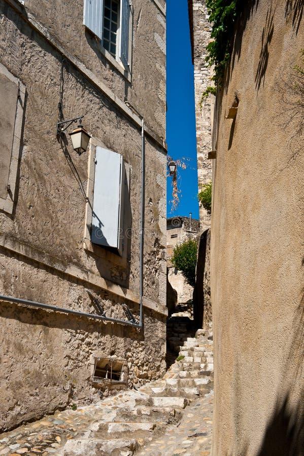 中世纪的城市 免版税库存照片
