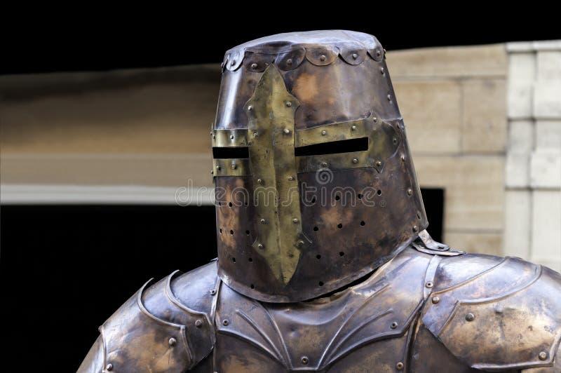 中世纪的装甲 图库摄影