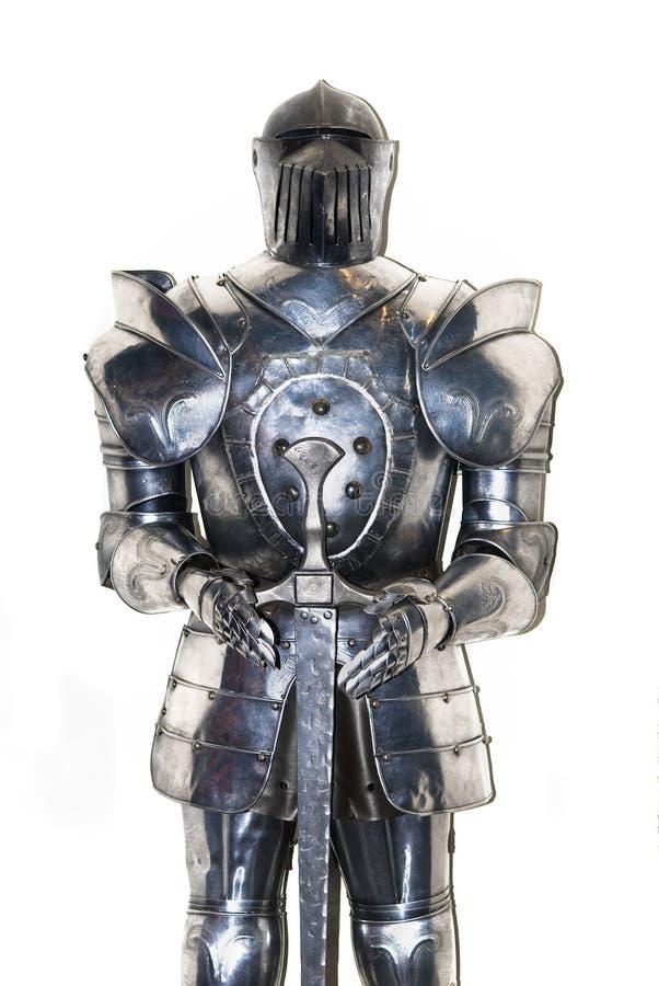 中世纪的骑士 库存照片