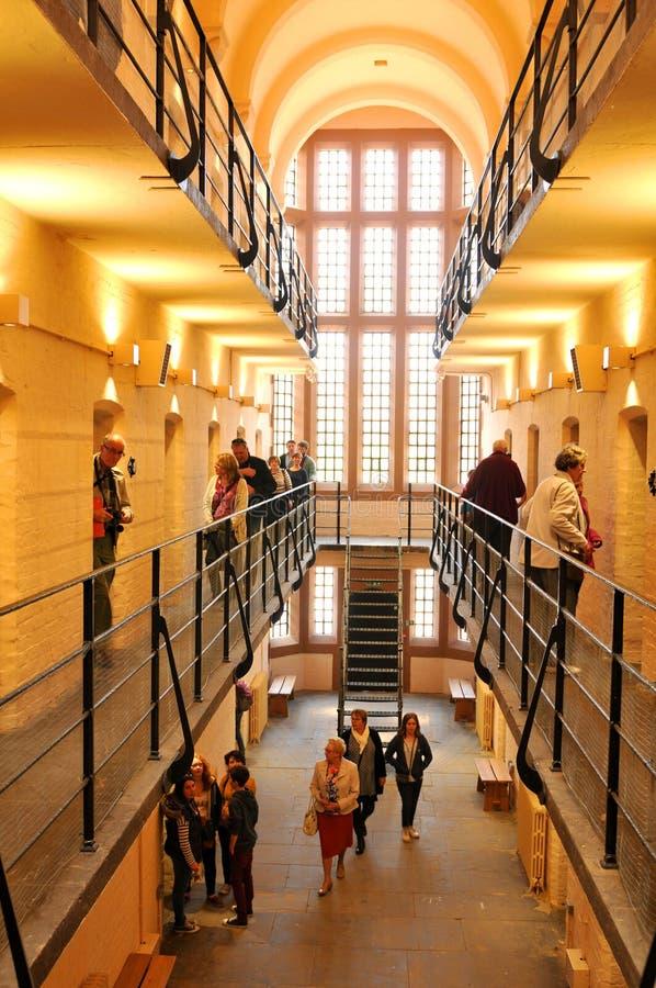 中世纪监狱 免版税库存照片