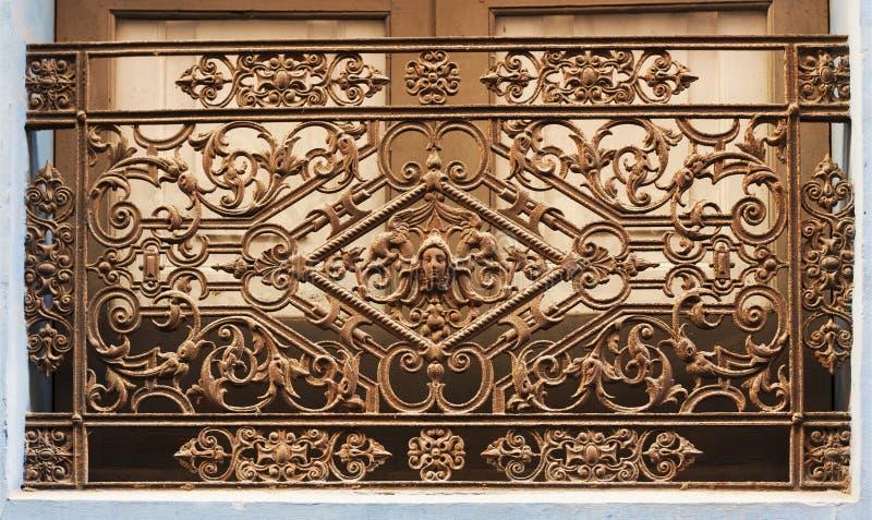 中世纪美好的生铁的艺术 库存照片