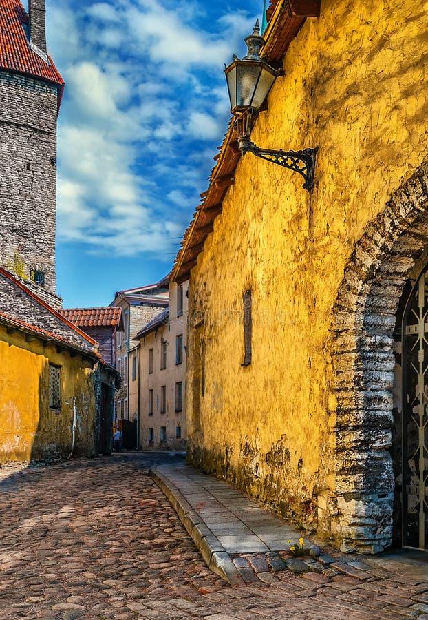 中世纪街道 免版税库存图片