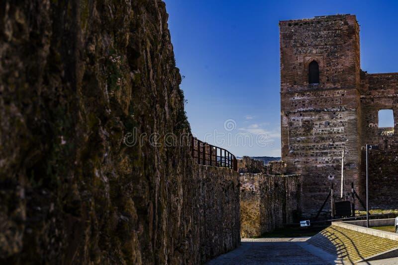 ?? 中世纪被围住的城市 库存照片