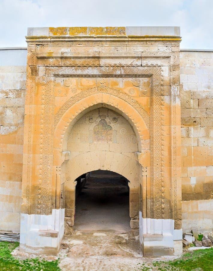 中世纪门 库存图片